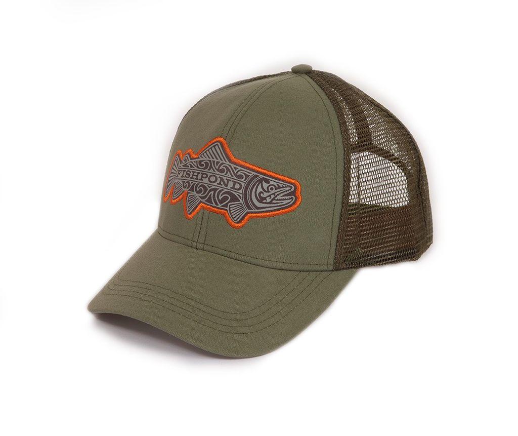 Fishpond Maori Trout Hat  Olive