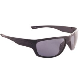 Fisherman Eyewear Striper (Grey Lens) Black Frame