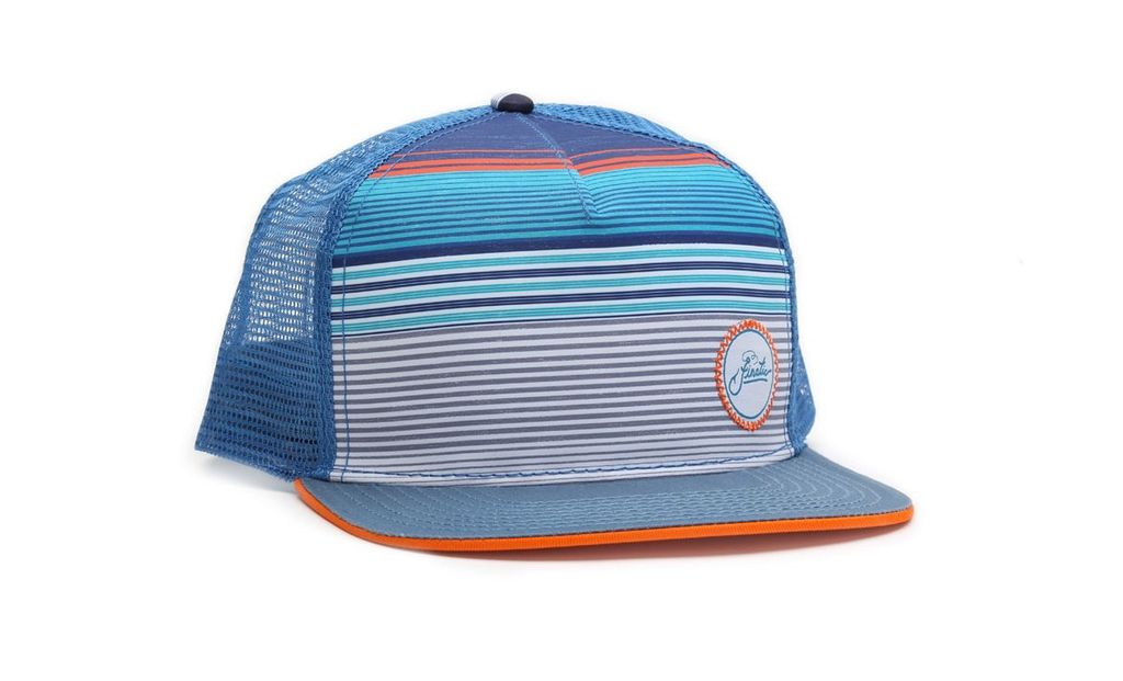 Hatch Striped Trucker