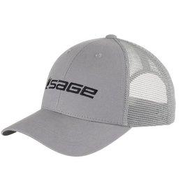 Sage Mesh Back Cap Steel