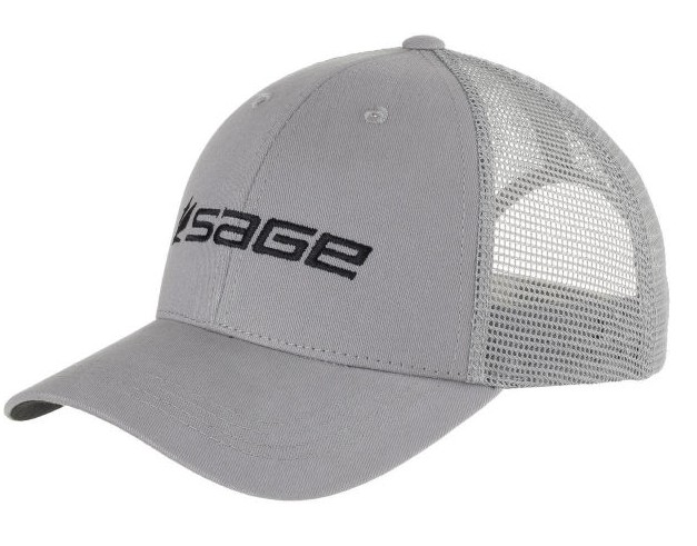 Sage Mesh Back Cap Steel