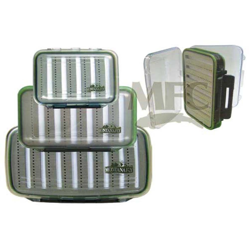 MFC Fly Box Waterproof Olive Medium