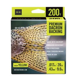 Hatch Premium Dacron Backing 20lb (200 yd)