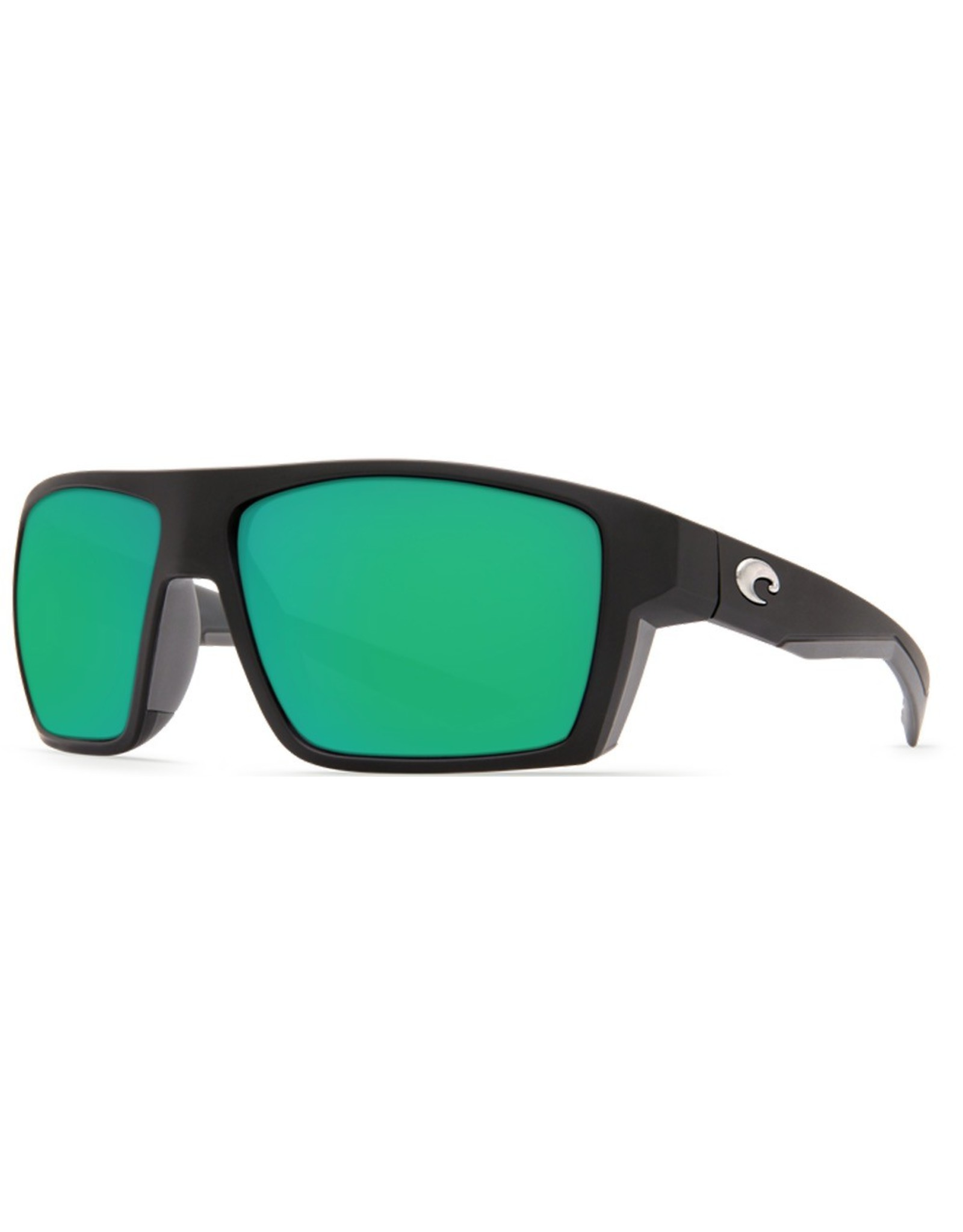 Costa Del Mar Bloke Matte Black/Matte Gray Green
