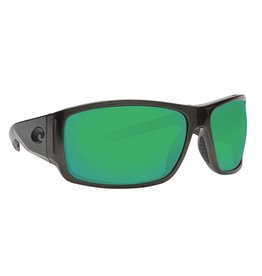 COSTA Cape (580P Green Mirror) Shiny Steel Gray Metallic Frame