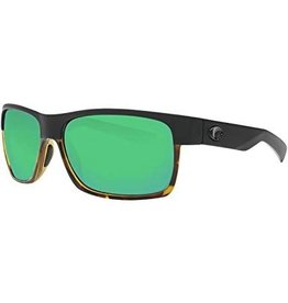 COSTA Half Moon (580P Green Mirror) Black Shiny Tortoise Frame