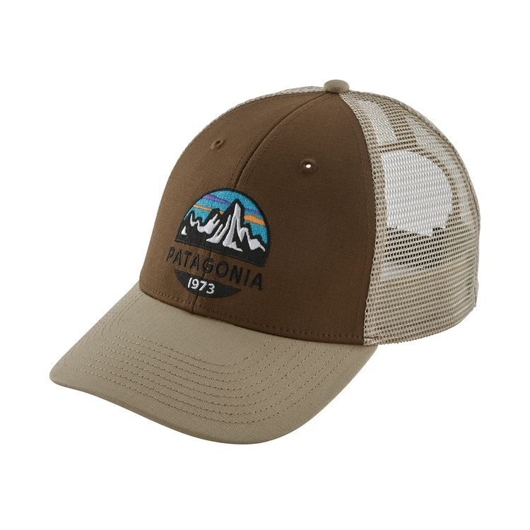 Patagonia Fitz Roy Scope LoPro Trucker Timber Brown