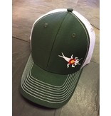CO Stonebug Trucker Hunter Green/White