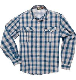 Howler Gaucho Snapshirt Nueches Plaid Blue
