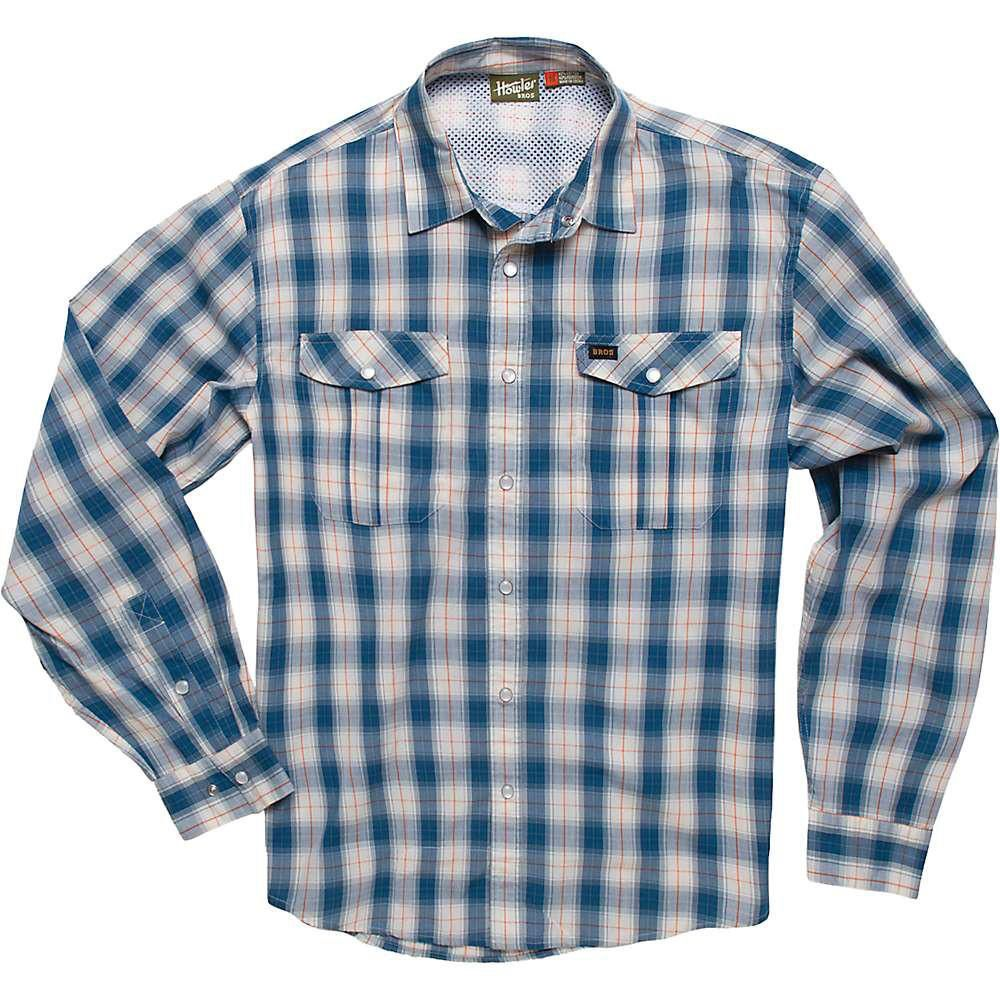 Howler Gaucho Snapshirt Nueches Plaid Blue