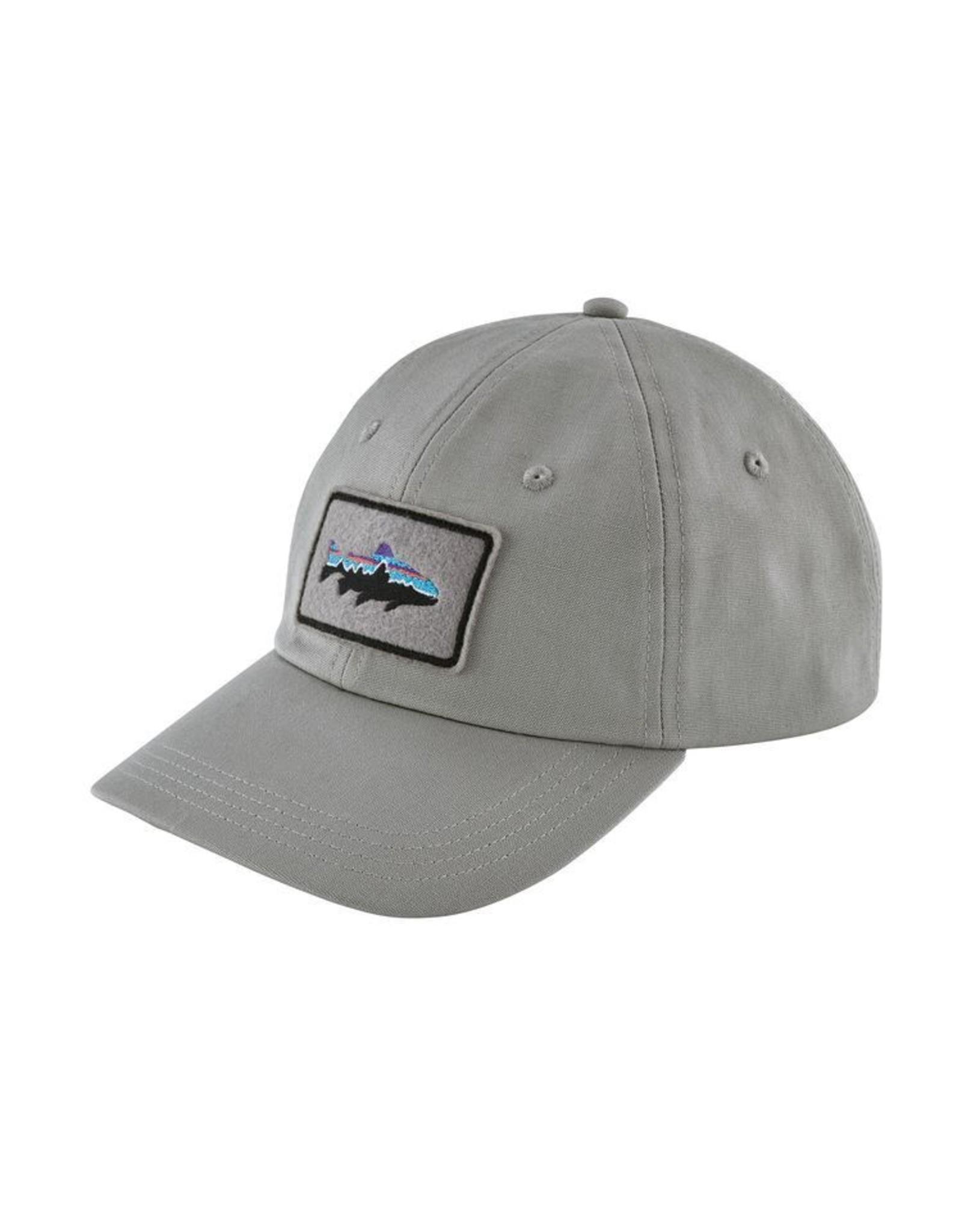 Patagonia Fitz Roy Trout Patch Terad Cap Drifter Grey RGA branded