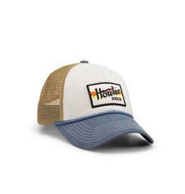 Howler Electric Stripe Hat (Off White/Blue)