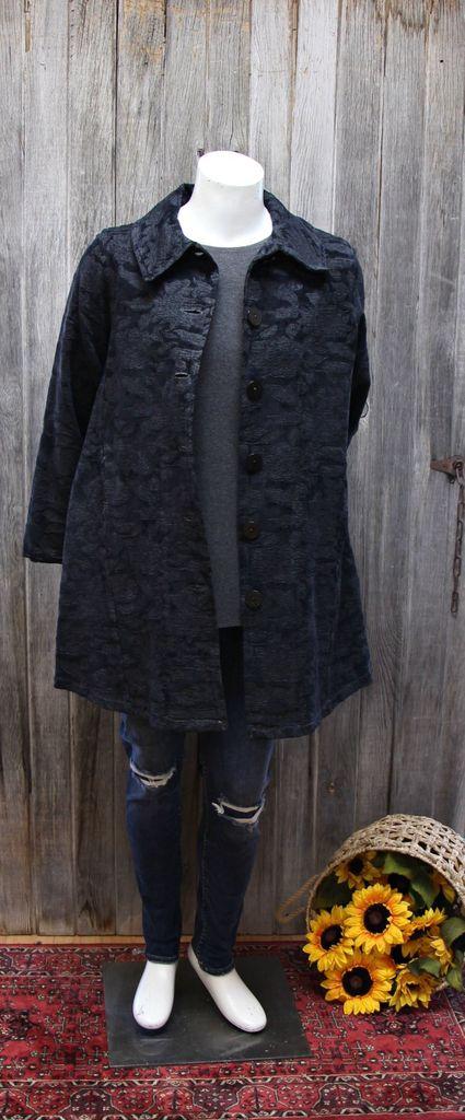 BF Coat W/Slant Seams