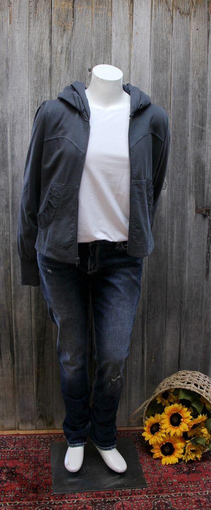 Short Hoodie Jacket