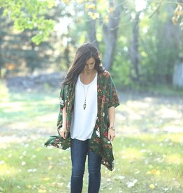 Urban Cowgirl Enchanted Forest Satin Duster