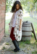 Urban Cowgirl Vintage Charm Floral Duster