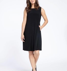 Sleeveless Trapeze Dress Short