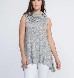 Sleevless Vanity Flare Tunic
