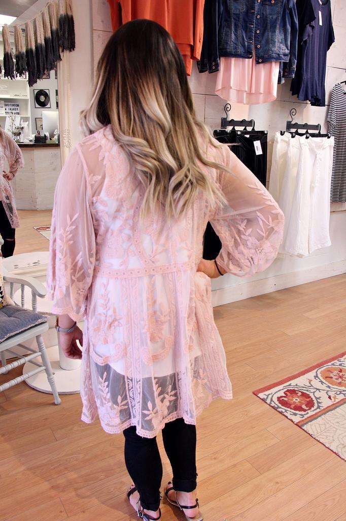Boho Lace Kimono