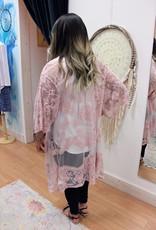 Boho Long Lace Kimono