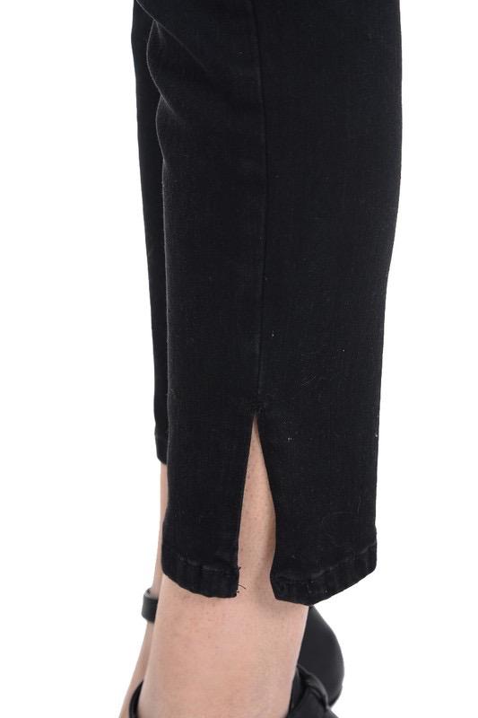 Judy Blue Side Slit Ankle Skinny