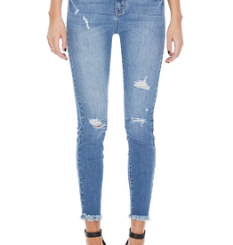 Judy Blue Fray Ankle Skinny