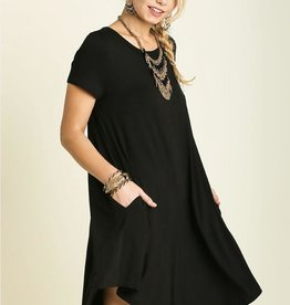 Boho Pocket T Dress