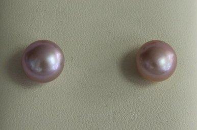 14ky Natural Pearl Earrings