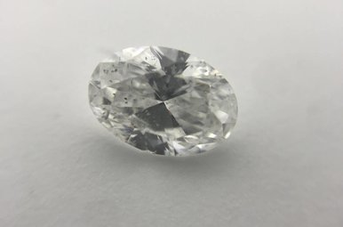 1.00ct D/SI2 (EGLUSA) Oval Cut Diamond