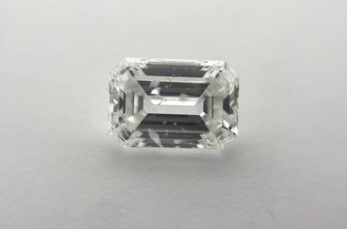 1.31ct D/SI2 (IGI) Emerald Cut Diamond