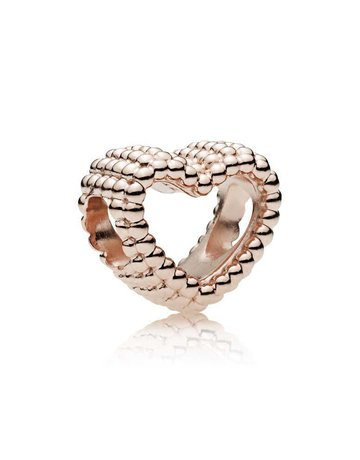 Pandora PANDORA Rose Charm, Beaded Heart