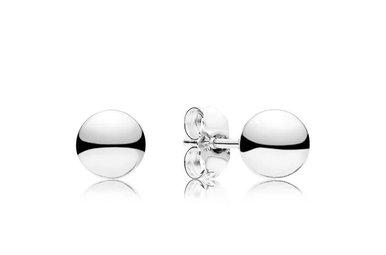 PANDORA Stud Earrings. Classic Beads