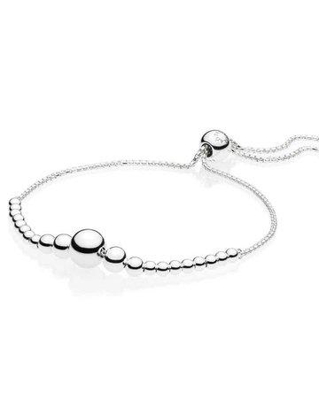 Pandora PANDORA Sliding Bracelet, String of Beads - 23 cm / 9.1 in