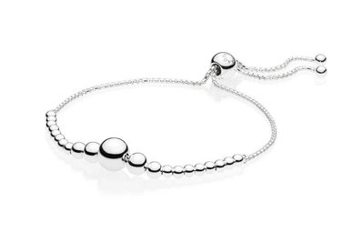 PANDORA Sliding Bracelet, String of Beads - 25 cm / 9.8 in