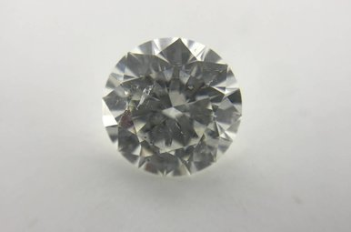 2.18 G/SI3 (EGLUSA) Round Brilliant Cut Diamond