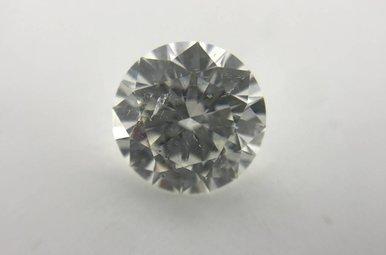 2.18ct G/SI3 (EGLUSA) Round Brilliant Cut Diamond