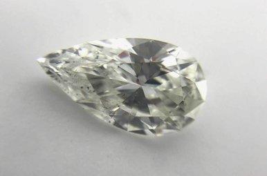 2.12ct H/SI2 Pear Cut Diamond