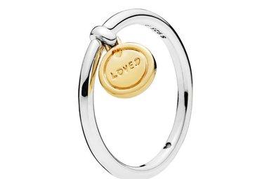PANDORA Shine Ring, Medallion of Love - Size 54