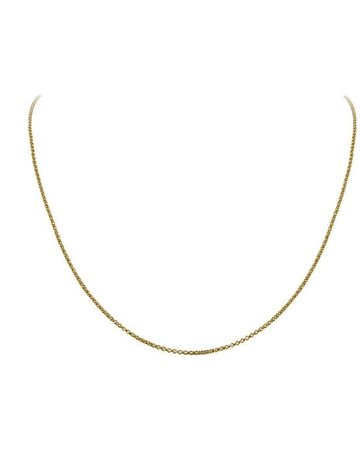 "Lafonn Lafonn Gold-Plated Cable Chain (18-20"")"