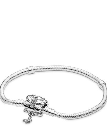 Pandora PANDORA Bracelet, Decorative Butterfly, Clear CZ - 20 cm / 7.9 in