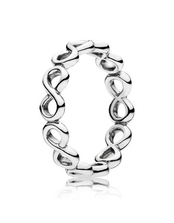 Pandora PANDORA Ring, Infinite Shine - Size 50
