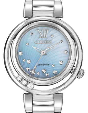 Citizen Citizen Eco-Drive L Sunrise Ladies Watch with Diamonds & Mother of Pearl Dial