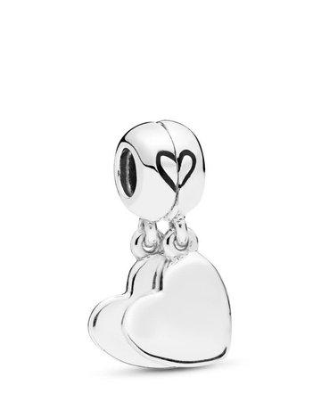 Pandora PANDORA Charm, Mother & Son Love, Black Enamel