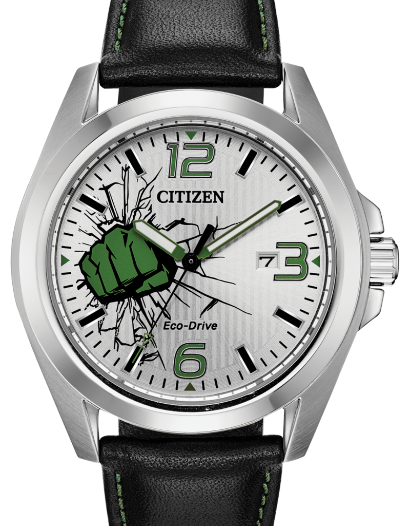 citizen watches leather band