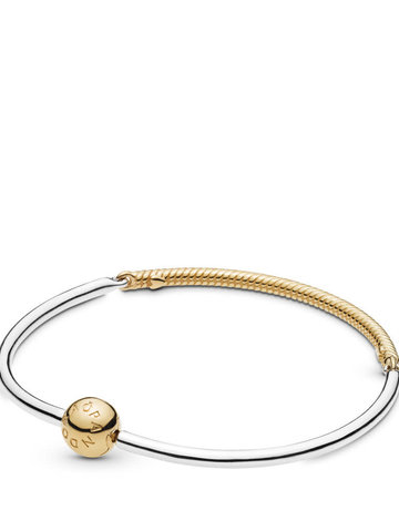 Pandora PANDORA Shine Bracelet, Three Link Bangle - 19 cm / 7.5 in