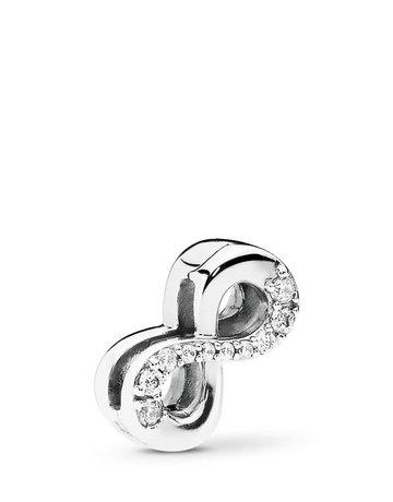 Pandora PANDORA Reflexions Charm, Sparkling Infinity, Clear CZ