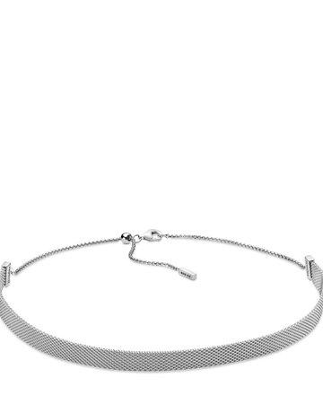 Pandora PANDORA Reflexions Mesh Choker Necklace - 38 cm / 15 in