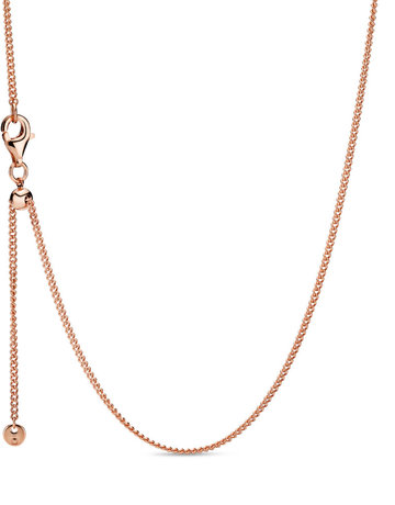 Pandora PANDORA Rose Adjustable Curb Chain - 60 cm / 23.6 in