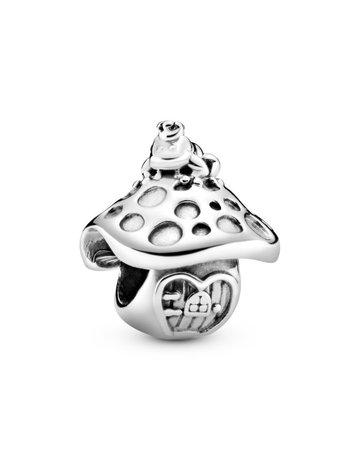 Pandora PANDORA Charm, Mushroom & Frog