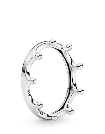 Pandora PANDORA Ring, Polished Crown - Size 54